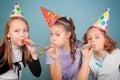Dzieciaka przyjęcie urodzinowe. Fotografia Stock