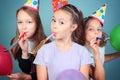Dzieciaka przyjęcie urodzinowe. Obraz Royalty Free