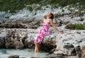 Dziewczyna relaksująca Obraz Royalty Free