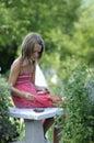 Dziewczyna religijna Zdjęcie Royalty Free