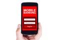E-Banking Royalty Free Stock Photo