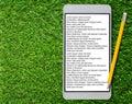 E-Book Concept Background