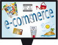E-commerce Royalty Free Stock Photo
