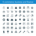 E-commerce, business and finance Royalty Free Stock Photo