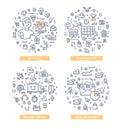 E-commerce Doodle Illustrations