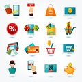 E-commerce Icons Set Royalty Free Stock Photo