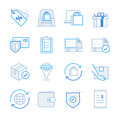 E-commerce and Shopping icons set 2 Royalty Free Stock Photo