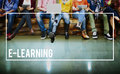 E-learning Education Online Media Studying Concept