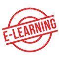E-Learning rubber stamp