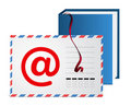 E-mail address book Royalty Free Stock Photo