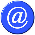 E-mail Button Royalty Free Stock Images