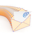 E-mail envelopes Stock Image