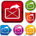 E-mail icon Royalty Free Stock Photography