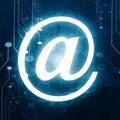 E-Mail-Symbol Lizenzfreies Stockbild