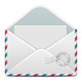 E mail vector illustration of detailed beautiful icon Royalty Free Stock Image