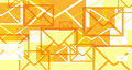 E-mails invasions Royalty Free Stock Photo