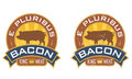 E Pluribus Bacon Stock Photo