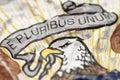 E pluribus unum Royalty Free Stock Photo