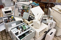 E-waste Royalty Free Stock Photo