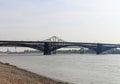 Eads Bridge Royalty Free Stock Photo