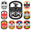 Eagle badge Stock Photo