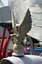 Eagle hood ornament Imagen de archivo libre de regalías