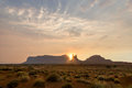 Eagle Mesa sunset Royalty Free Stock Photo