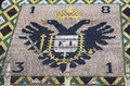 Eagle Tiles Roof of Stephansdom in Vienna, Austria Royalty Free Stock Image