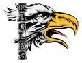 Eagles Mascot Royalty Free Stock Photo