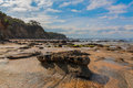 Eagles nest beach victoria australia Royalty Free Stock Photo
