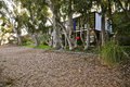 Eames House, Pacific Palisades Royalty Free Stock Photo