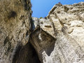 The ear of dionysius ancient syracuse on sicily italy near Stock Image