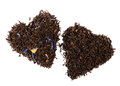 Earl Grey and Lady Grey black loose tea Royalty Free Stock Photo