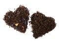 Earl Grey and Lady Grey black loose tea Royalty Free Stock Photo