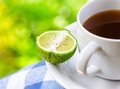 Earl Grey tea with bergamot Royalty Free Stock Photos