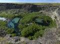 Earl m hardy box canyon and nature preserve idaho Royalty Free Stock Image