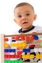 Early learning baby Stock Photos
