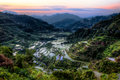Early mornig over ifugao light Royalty Free Stock Photo