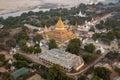 Shwezigon Pagoda - Bagan - Myanmar (Burma) Royalty Free Stock Photo
