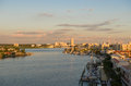 Early morning of clearwater at tampa florida usa Stock Photos