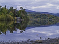 Early morning derwentwater Royalty Free Stock Image