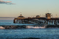 Early Morning on the Imperial Beach Fishing Pier Royalty Free Stock Photo