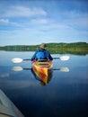 Peaceful kayak