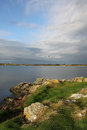 Early morning landscape, four mile bridge, Anglesey Royalty Free Stock Photo