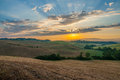 Early morning light  in the Tuscany Royalty Free Stock Image