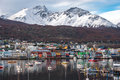 Early morning in Ushuaia, Patagonia, Argentina Royalty Free Stock Photo