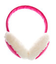 Earmuff on the white Royalty Free Stock Photo