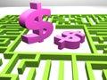Earning money concept Stock Photos