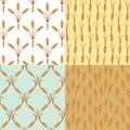 Ears of wheat pattern