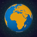 Earth Africa Europe View